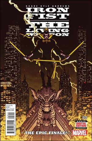 Iron Fist: The Living Weapon 12-A