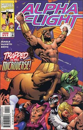 Alpha Flight (1997) 11-A