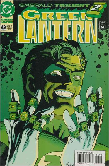 Green Lantern (1990) 49-A by DC