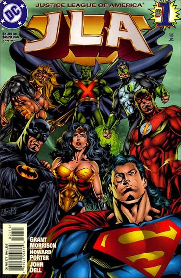 JLA 1-A by DC