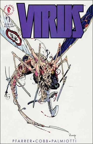 Virus 1-A by Dark Horse
