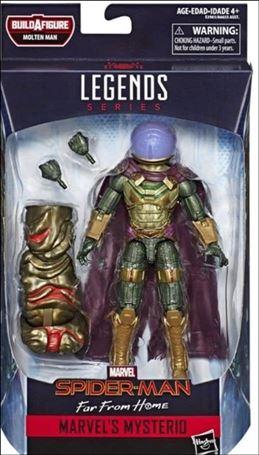 Marvel Legends Series: Spider-Man (Molten Man Series) Mysterio