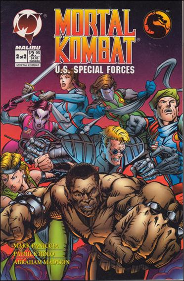 Mortal Kombat U.S. Special Forces 2-A by Malibu
