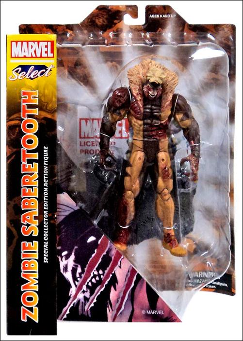 Marvel Select Zombie Sabretooth by Diamond Select