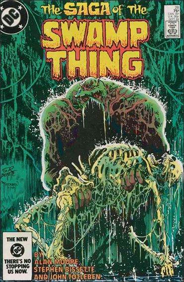 Saga of the Swamp Thing 28-A by DC