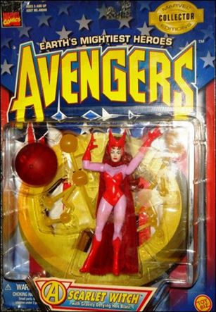 Avengers (1997) Scarlet Witch (w/ Gravity Defying Hex Blast)