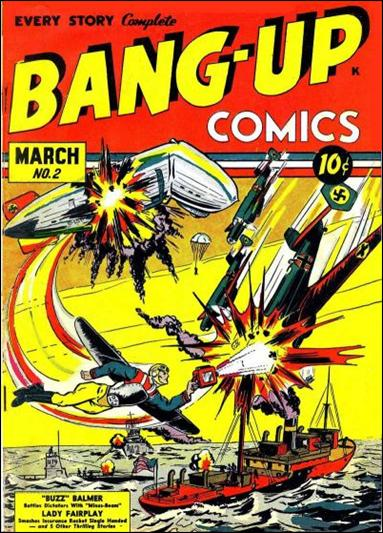 Bang-Up Comics 2-A by Progressive Publishers