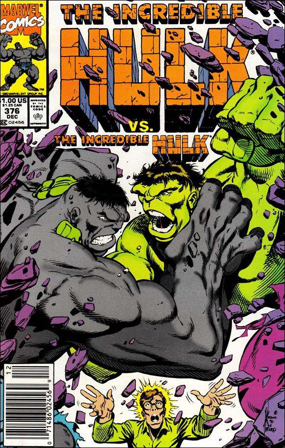 Incredible Hulk (1968) 376-A by Marvel