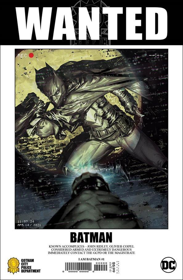 I am Batman 1-E by DC