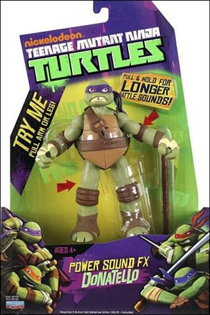 Teenage Mutant Ninja Turtles (2012) Power Sound FX Donatello