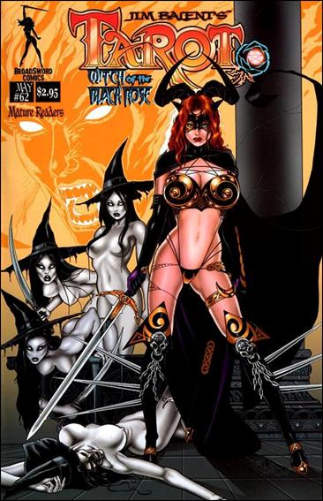 Tarot: Witch of the Black Rose 62-A by BroadSword Comics