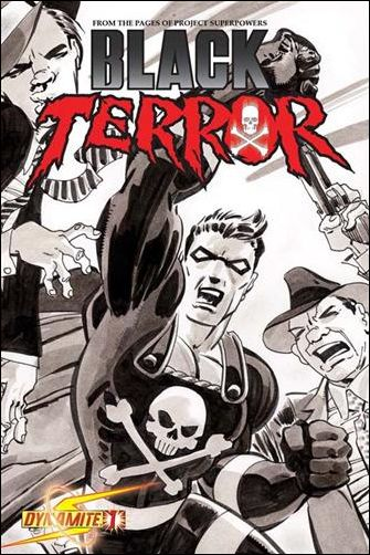 Black Terror (2008) 1-E by Dynamite Entertainment