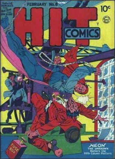 Hit Comics 8-A by Quality