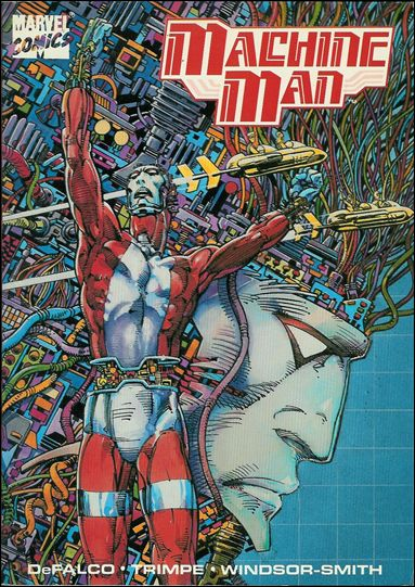 Machine Man 1-A by Marvel