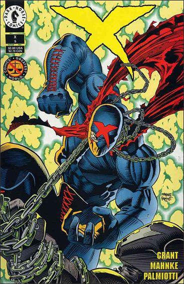 X (1994) 5-A by Dark Horse