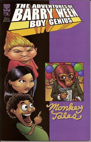 Adventures of Barry Ween, Boy Genius 3: Monkey Tales 3-A