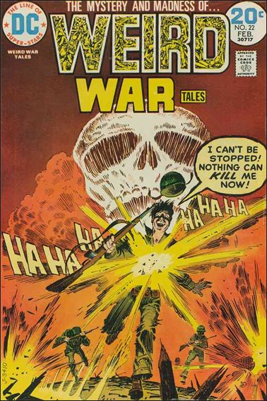 Weird War Tales (1971) 22-A by DC