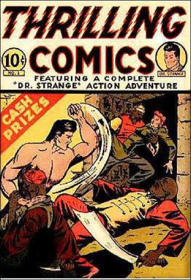 Thrilling Comics (1940) 2-A by Standard