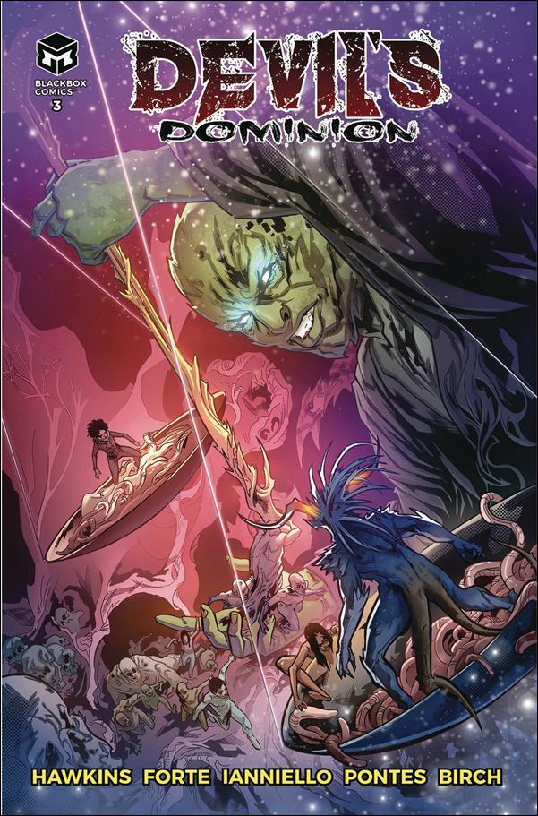 Devil's Dominion 3-A by Blackbox Comics