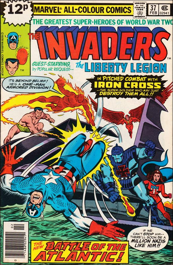 Invaders (1975) 37-B by Marvel