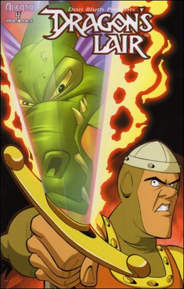 Dragon's Lair (2006) 4-A by Arcana