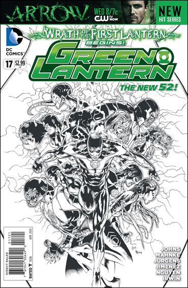 Green Lantern (2011) 17-D by DC