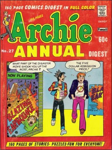 Archie Annual Digest Magazine 27-A by Archie