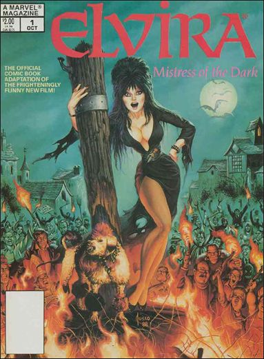 Elvira, Mistress of the Dark (1988) 1-A by Marvel