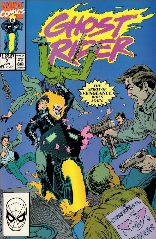 Ghost Rider (1990) 2-A by Marvel