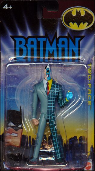 Batman (Animated) Two-Face (Plaid Suit) by Mattel