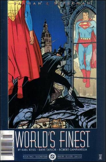 Batman and Superman: World's Finest 2-A by DC