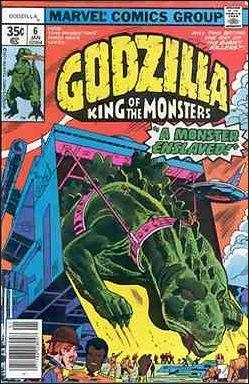 Godzilla (1977) 6-A by Marvel