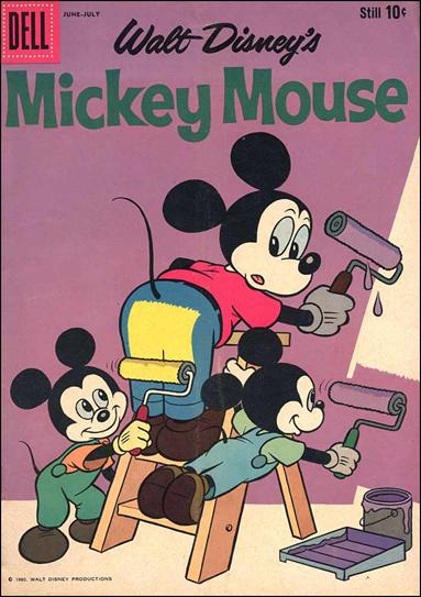 Walt Disney's Mickey Mouse 72-A by Dell