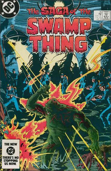 Saga of the Swamp Thing 20-A by DC