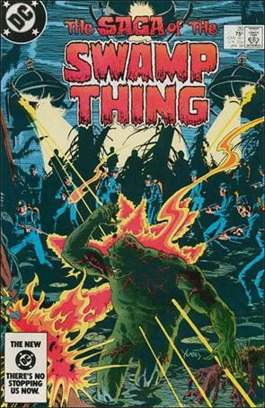 Saga of the Swamp Thing 20-A