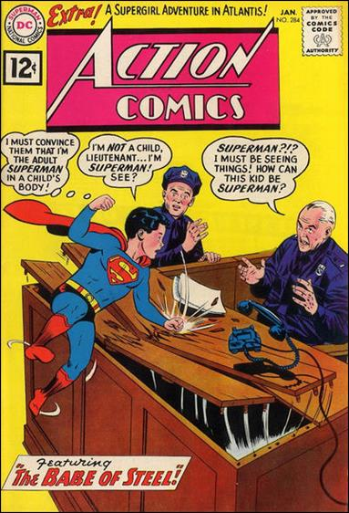 Action Comics (1938) 284-A by DC