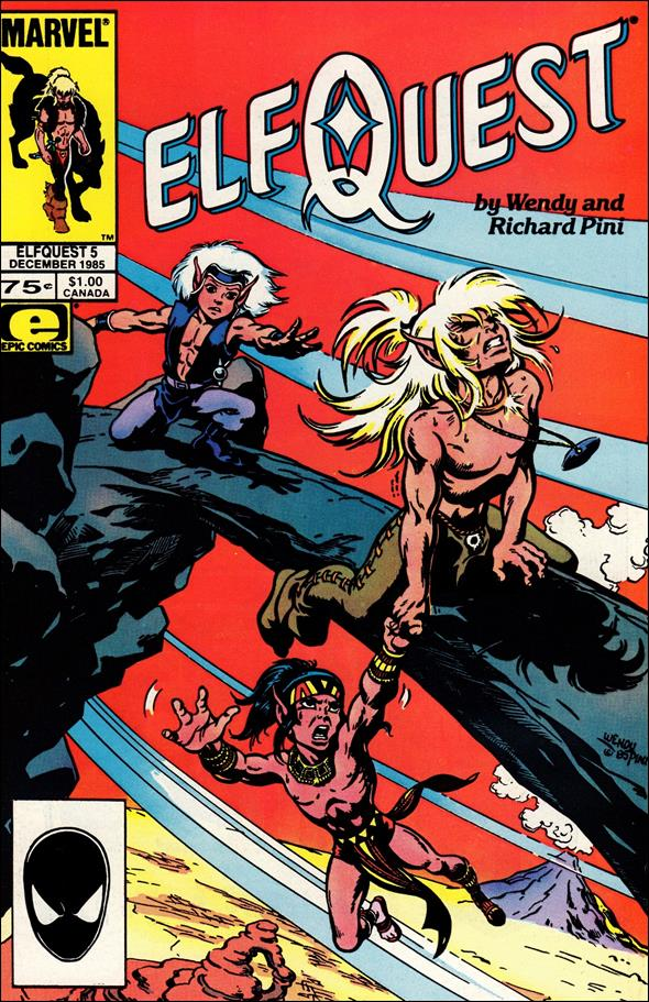 Elfquest (1985) 5-A by Epic