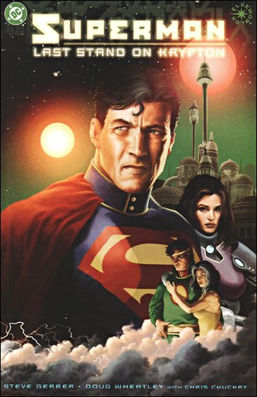 Superman: Last Stand on Krypton 1-A by DC