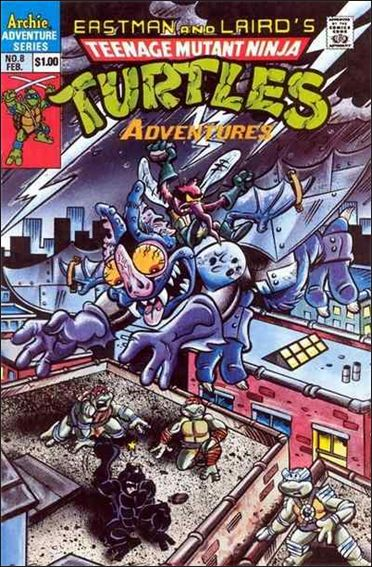 Teenage Mutant Ninja Turtles Adventures (1989) 8-A by Archie
