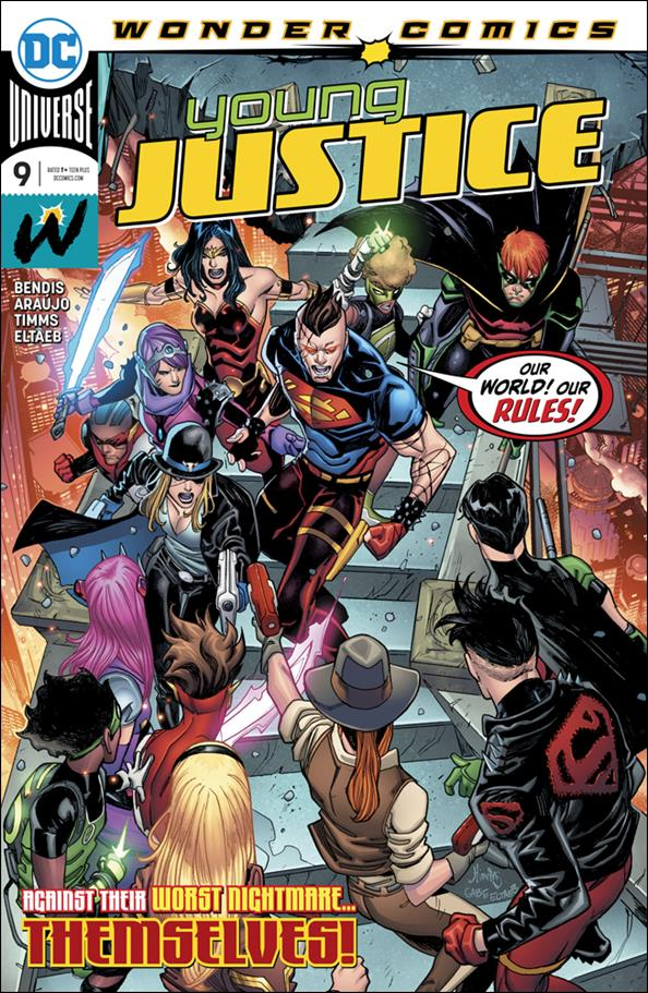 Young Justice (2019) 9-A by Wonder Comics