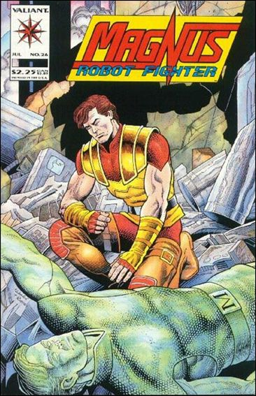 Magnus Robot Fighter (1991) 26-A by Valiant