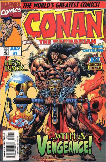 Conan the Barbarian (1997) 1-A by Marvel