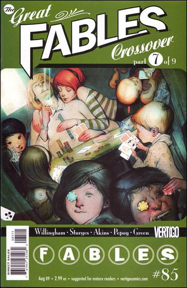 Fables 85-A by Vertigo