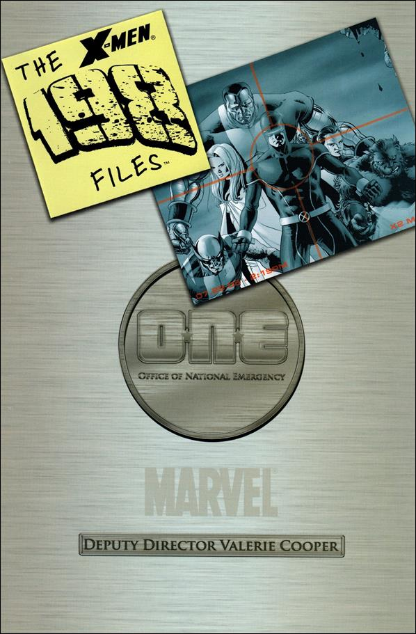X-Men: The 198 Files nn-A by Marvel