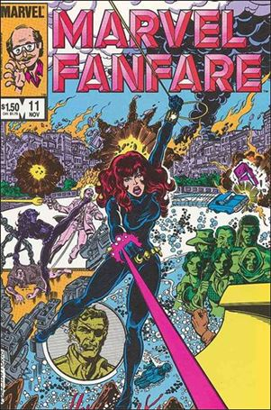 Marvel Fanfare (1982) 11-A