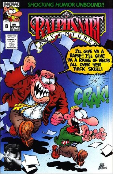 Ralph Snart Adventures (1988) 8-A by Now Comics