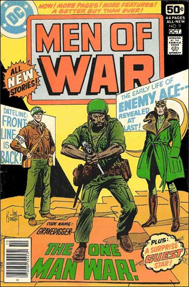 Men of War (1977) 9-A by DC