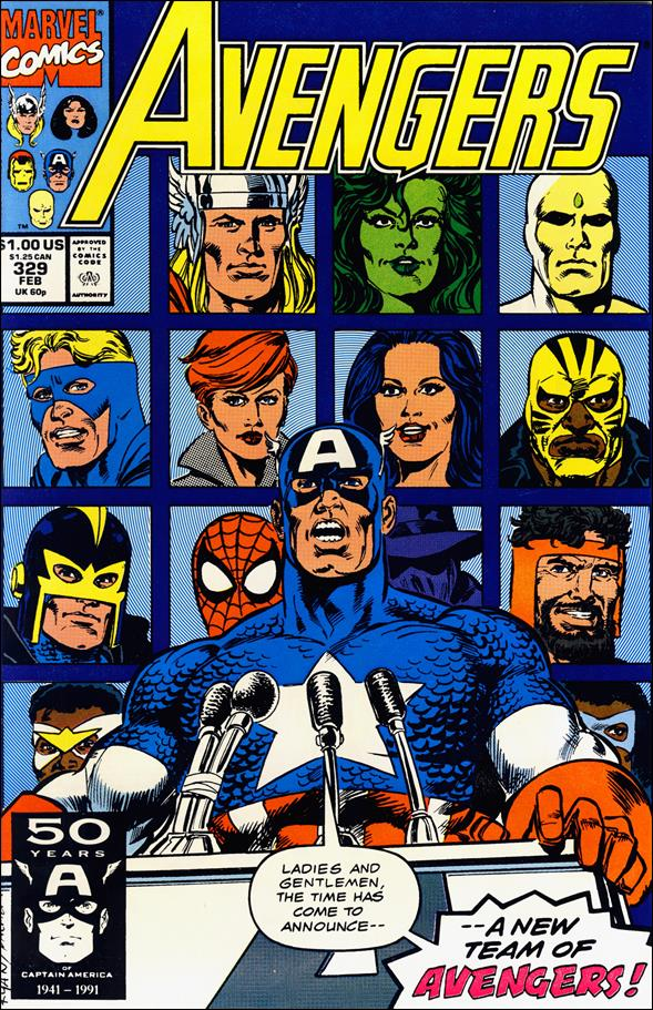 Avengers (1963) 329-A by Marvel