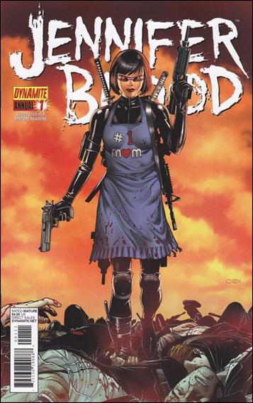 Jennifer Blood Annual 1-A by Dynamite Entertainment