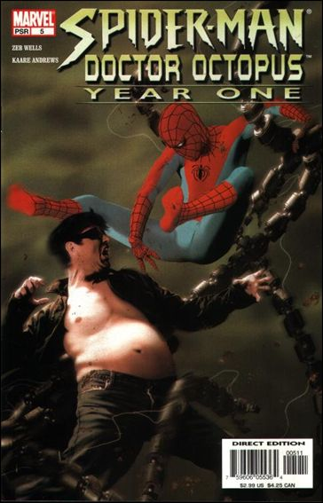 Spider-Man/Doctor Octopus: Year One 5-A by Marvel